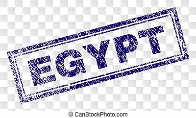 Grunge EGYPT Rectangle Stamp