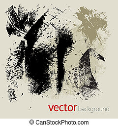 Grunge elements, vector set 2