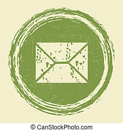 grunge, email