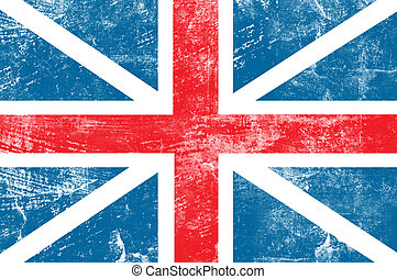 England flag - Grunge England flag background
