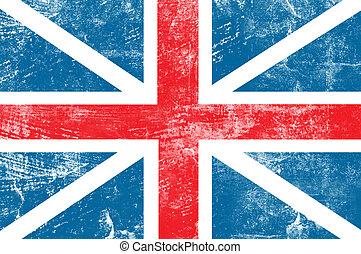 England flag - Grunge England flag background