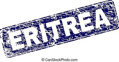 Grunge ERITREA Framed Rounded Rectangle Stamp