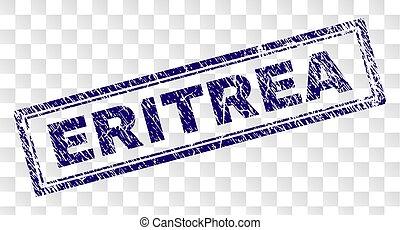 Grunge ERITREA Rectangle Stamp