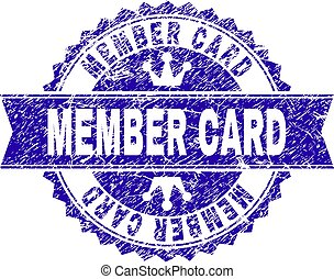 grunge, estampilla, textured, miembro, tarjeta, sello, cinta