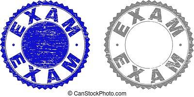 Grunge EXAM Textured Watermarks