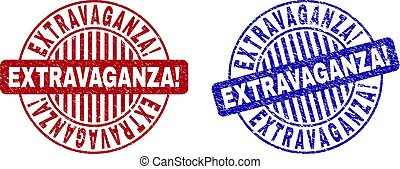 Grunge EXTRAVAGANZA! Textured Round Stamp Seals