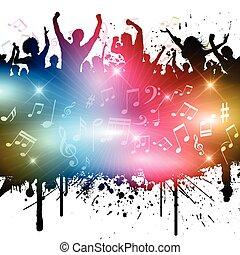 grunge, fête
