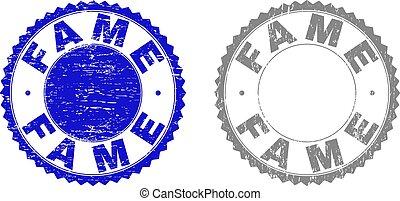 Grunge FAME Textured Stamp Seals