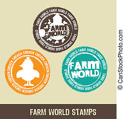 farm stamps
