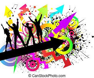 grunge, feestje