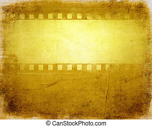 grunge film background