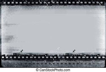 Grunge film frame - Computer designed highly detailed film ...