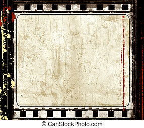 grunge, film, frame