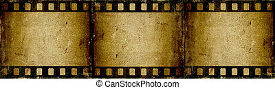 Grunge filmstrip - Grunge style film strip background