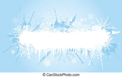 grunge, fiocco di neve, fondo
