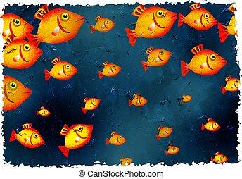 grunge fish