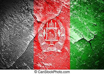 Grunge Flag of Afghanistan