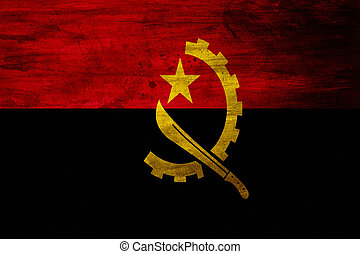 Grunge Flag of Angola