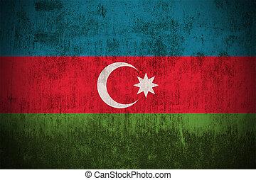 Grunge Flag Of Azerbaijan