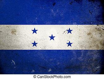 Grunge Flag of Honduras