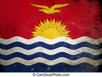 Grunge Flag of Kiribati