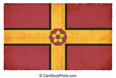 Grunge flag of Northamptonshire (Great Britain) - Flag of ...