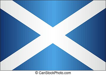 Grunge flag of Scotland - Illustration, Scottish flag ...