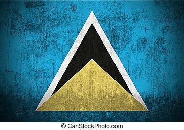 Grunge Flag Of