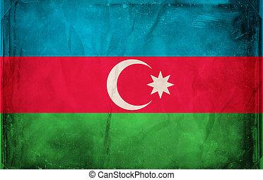 Azerbaijan - Grunge flag series -  Azerbaijan