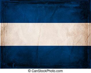 Nicaragua - Grunge flag series - Nicaragua