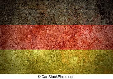 Grunge flags texture