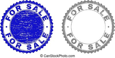 Grunge FOR SALE Textured Stamp Seals