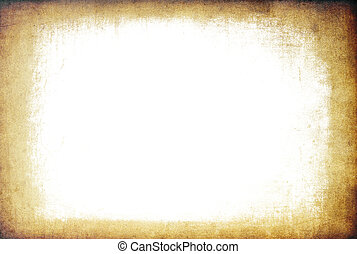 Grunge frame background with isolated copyspace.