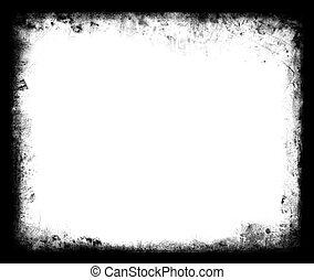 Grunge Frame element