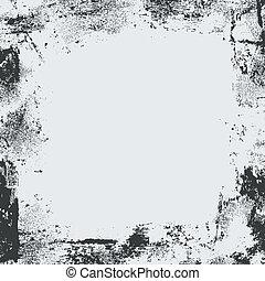 grunge, frame