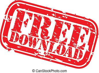 Grunge free download rubber stamp,