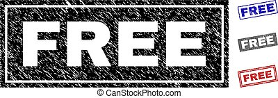 Grunge FREE Textured Rectangle Watermarks