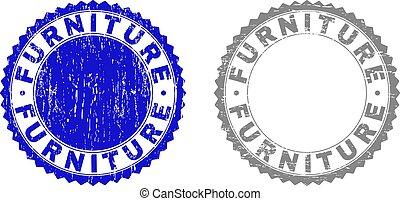 Grunge FURNITURE Textured Watermarks