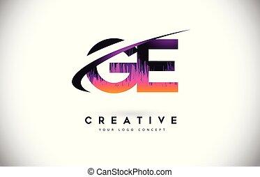 grunge, g, pourpre, vendange, ge, créatif, couleurs, vecteur...