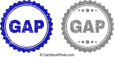 Grunge GAP Scratched Watermarks
