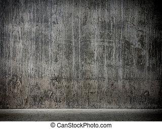 Grunge garage background