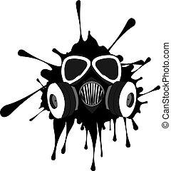 Grunge Gas Mask