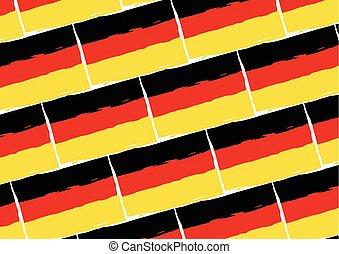 grunge fahne deutschland stil grunge geschaffen nationales kennzeichen deutschland. Black Bedroom Furniture Sets. Home Design Ideas