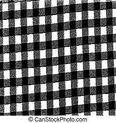 Grunge Gingham Texture