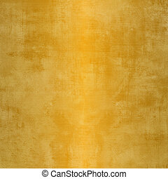 Grunge gold background with stains