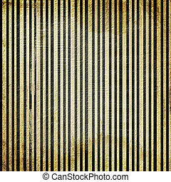 Grunge gold background with striped.