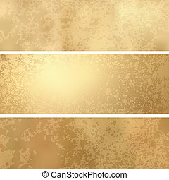 grunge, gold, raum, text., eps, hintergrund, 8