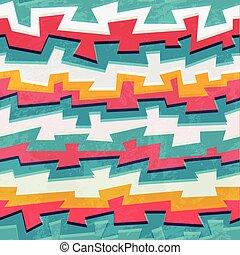 grunge graffiti seamless pattern