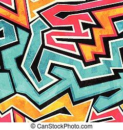 grunge graffiti seamless texture