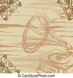grunge gramophone